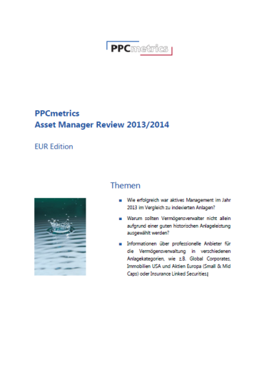 PPCmetrics Asset Manager Review 2013/2014