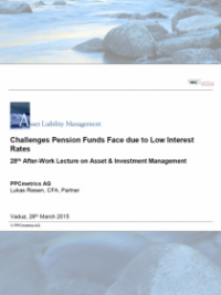 Challenges Pension Funds Face due to Low Interest Rates