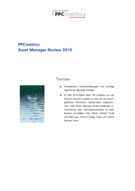 PPCmetrics Asset Manager Review 2018 – CHF Edition