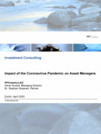 Impact of the Coronavirus Pandemic on Asset Managers