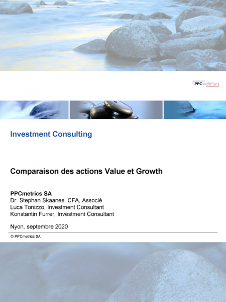 Comparaison des actions Value et Growth