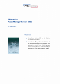 PPCmetrics Asset Manager Review 2016 - EUR Edition