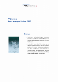 PPCmetrics Asset Manager Review 2017 - CHF Edition
